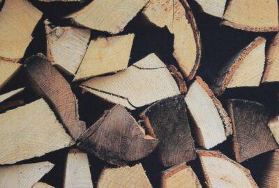 tissu bois en 140cm