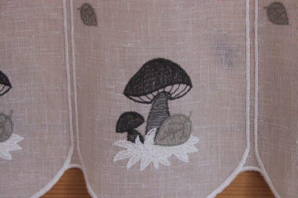 voilage champignon