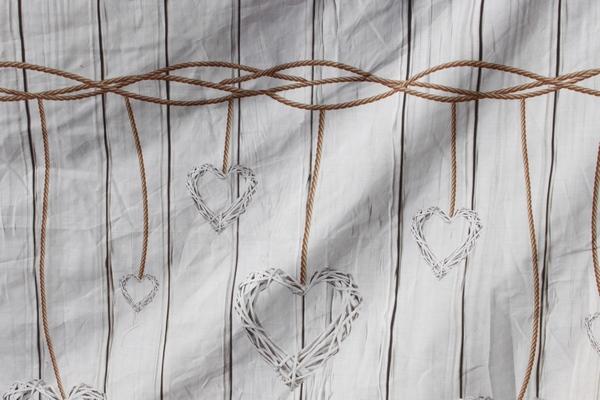 Housse de couette Guirlande coeurs par l'Esprit Montagne-7908