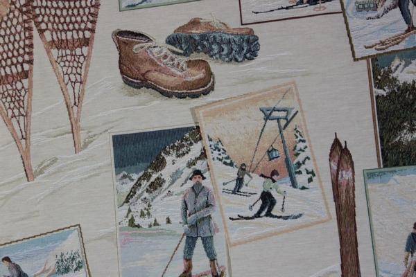 tissu Montagne jacquard Les Gets-7068