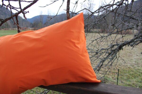 taie percale orange
