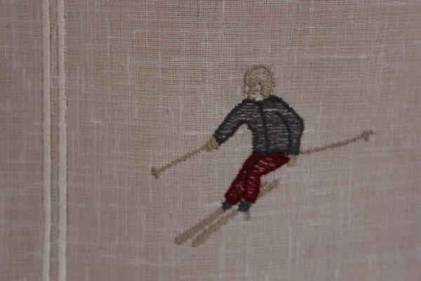 voilage skieur