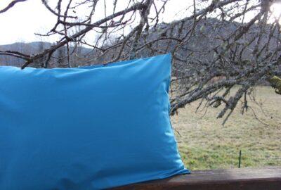 taie Percale bleu-0